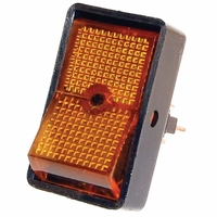 Illuminated Rocker Switch | 12.5mm (Amber | Blue | Green | Red Available)