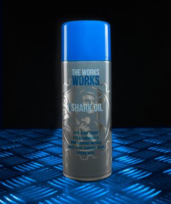 The Works Shark Oil 300ml - Anti-Clog