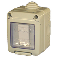 Gewiss 10A Single Pole Two-Way Switch IP56