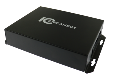 IC Realtime Stream Box 16 Channel H.265 Spot Monitor Decoder