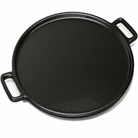 "Black Iron Pizza Pan 9"""