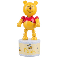 Winnie the pooh push up toy