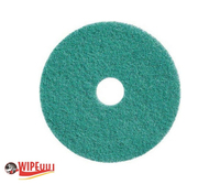 "FLOOR PAD 17"" GREEN 5pk"
