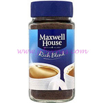 Maxwell House Rich Blend 100g x12  Blue