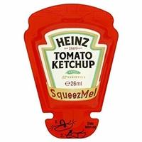 Sachet Ketchup Squeeze Me Heinz - (70x26gr)
