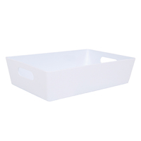 Wham Studio Tray 17x25cm Rectangular 4.01 Ice White