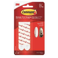 Command Large Mounting/Replacement Strips 6pk 17023P