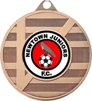 50mm Medal with Triangle Design (Bronze)