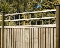 Trellis Dip Treated 1.83m(W) x 320mm(H) Brown