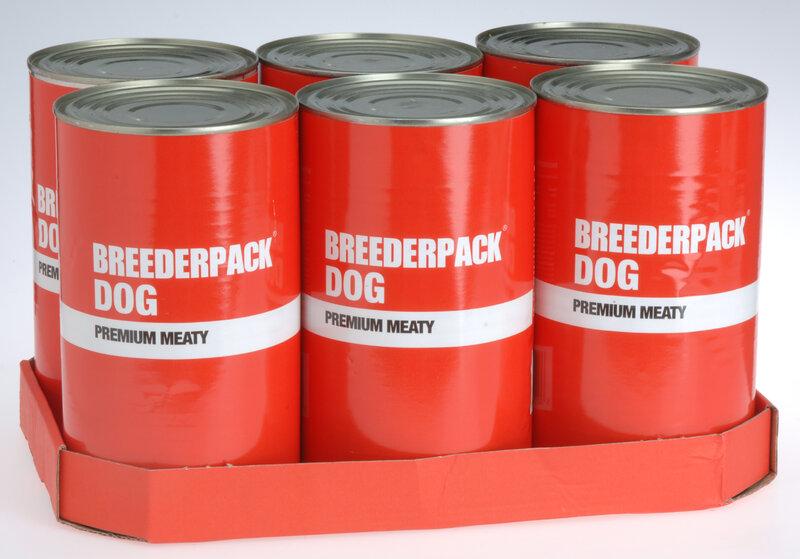 Breederpack Premium Meaty Dog 6 x 1200g