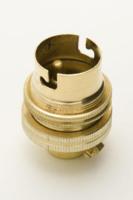 BC LAMPHOLDER BRASS 1/2 inch
