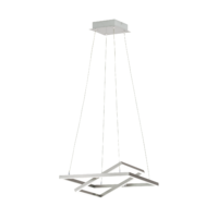 EGLO Tamasera Satin Nickel 14w LED Pendant | LV1902.0087