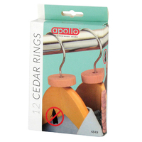 Apollo Cedar Rings 12pk  - 4849