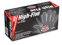 Black Nitrile Gloves Box 100