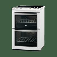 Zanussi ZCV668MW 60cm Ceramic Cooker - White