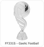 130mm Gaelic Ball Fast Fix Figure (Silver)