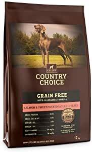 Gelert Country Choice Grain Free Salmon & Sweet Potato Dog Food 12kg