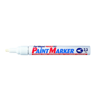 Artline 400XF Pen Paint Marker - White