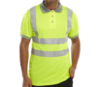 Hi-Visibility Polo Shirt Yellow
