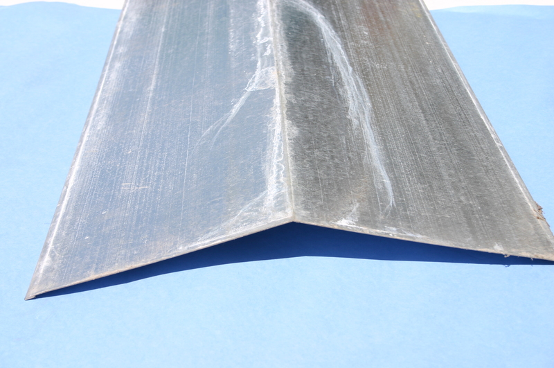 Galv Ridge Capping For Corrugated 3mt X 150mm Goodwins