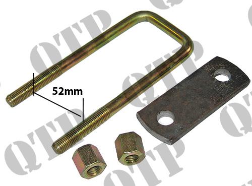 Tractor U Bolts : U bolt c ol plate nuts mm clifford s tractor parts