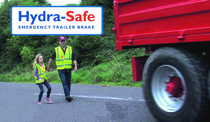Hydra-Safe Emergency Trailer Brake