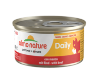 Almo Nature Daily Menu Cat Foil - Chunks with Beef 85g x 24