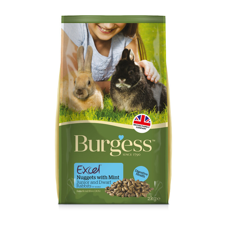 Burgess Excel Rabbit Junior & Dwarf 4kg