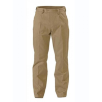 Bisley Mens Original Cotton Single Pleat Work Pant 310gsm