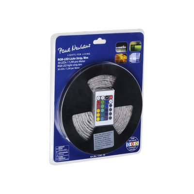 PAUL NEUHAUS  10 METRE RGB LED PACK INCLUDES POWER SUPPLY  AND REMOTE CONTROL