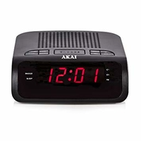 AKAI LED CLOCK RADIO