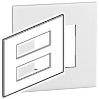Arteor (British Standard) Plate + Support 2x6m Square White| LV0501.0103
