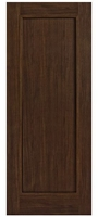 Daiken Walnut 1-Panel Solid 78x24 inch