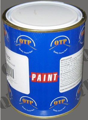 Paint 1 Ltr New Holland Grey White for Wheels