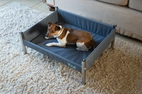 Henry Wag Elevated Dog Bed Ash Grey - Small x 1