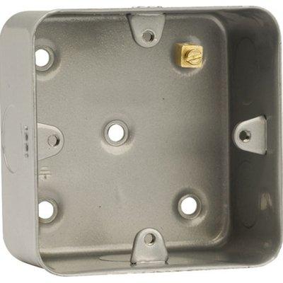 Click CL083 1G 40mm Mounting Box Metalclad
