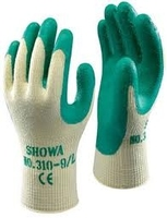 Green Showgun Brickies Gloves