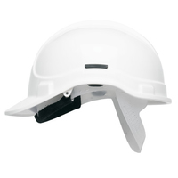 WHITE Elite Scott Protector Safety Helmet