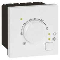 Arteor Electronic Room Thermostat - White  | LV0501.0980