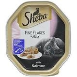 Sheba Foils - Fine Flakes Salmon in Jelly 85g x 22