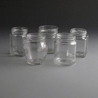 Glass Jars 190ml to 230ml