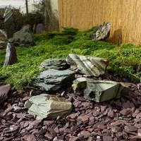 GREEN ROCKERY LUMP CAGE
