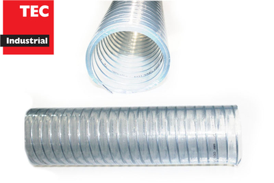 Clear PVC Suction Hose Food Grade