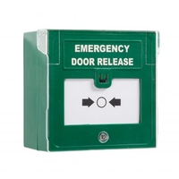 RGL Double Pole Call Point - Emergency Release Button (resettable) with front cover