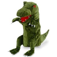 Green Dinosaur Hand Puppet - T-Rex