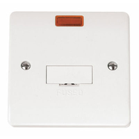 Click Mode CMA653 13A UnSwitched Fused Connection Unit Neon