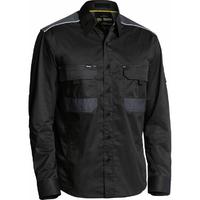 Bisley Flex & Move Cotton Mechanical Stretch Long Sleeve Shirt