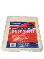 FLEETWOOD PREMIUM COTTON DUST SHEET 12' X 9'