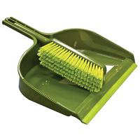 Leecroft Garden Dustpan and Stiff Brush