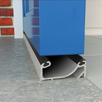 EXITEX ALUMINUM DOUBLE SEALING SILL